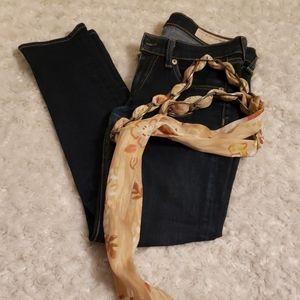 Rag & bone size 24 inseam 26 skinny, Ankle cropped